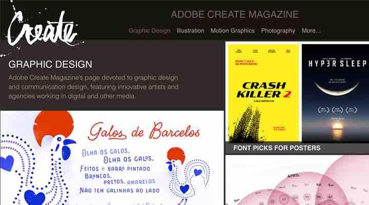 Graphic Design - Adobe Create Magazine